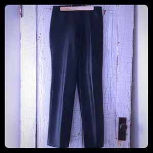 Danier Leather Straight Leg Pants 6